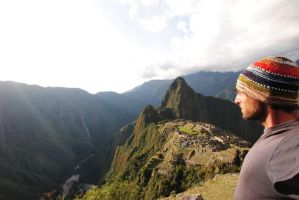 Me over Machu Picchu by phakeplastic
