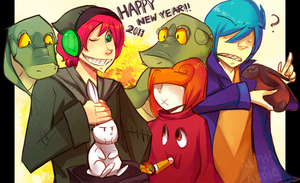 """Happy 2011"" by Alphaistic"