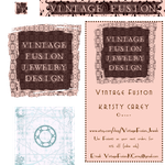 Vintage Fusion Jewelry Design by KCarey