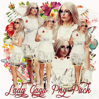 Pack png 194 Lady Gaga by MichelyResources