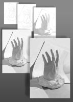 Hand cast study by EthicallyChallenged