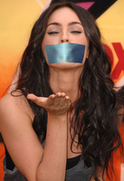 Megan Fox gagged by CuteGirlsGagged