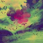 balloons in the sky by sweet-reality-xo