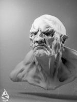 Speed Sculpt - orc2 by Art-by-Smitty