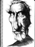 Christopher Lee by Parpa