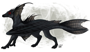 Black Lace Dragon [Auction: ENDED] Reserve not met by ResidualHaunt