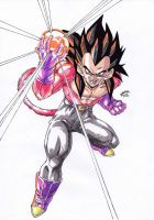Dragonball GT - Vegeta SSJ4 Power! by TriiGuN