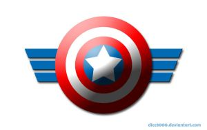 Captain America's shield by DICE3000