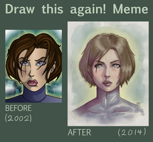 Before And After Girl-01 by TheRogueSPiDER