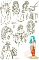 Sketch Page_Siraj by BlackBirdInk