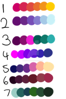 Color Pallets adopts OTA (Closed) by Monkitteh-Adopts