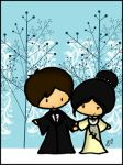 Yule Ball: Cedric and Cho by cippow25