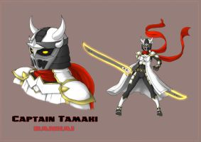 Captain Tamaki - Bankai by Hunter-Wolf