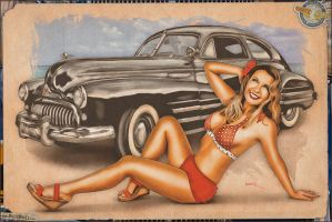 Pinups - 1946 Buick 8/40 Special by warbirdphotographer