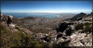Table Mountain panorama by dr-phoenix