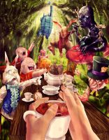 Alice In Wonderland by Yasada