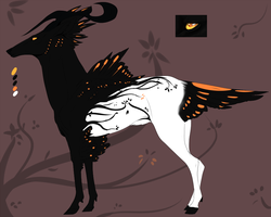 [AUCTION CLOSED] Deer hybrid creature for adopt by elementdragon97