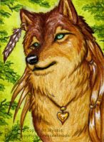 ACEO -Myenia- by CrescentMoon