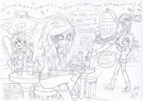 Party Crashers by erondagirl