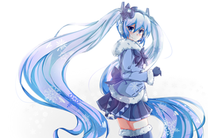 Snow Miku by MeluuArts