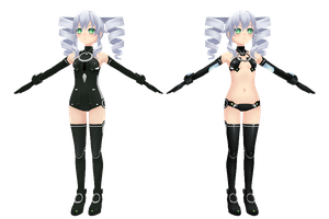 Hyperdimension Neptunia V, Black Sister by xXNekochanofDoomXx
