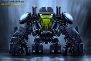 MAS-012F Groundmaster VI by PointedTail