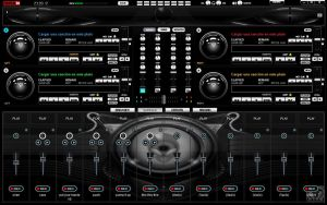 NEW Skin Alien Black For Virtual DJ 7 by THERECORDBLACK01