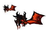 Sprite-off entry 3 Morgath the Blaze Hell General by Suppliciumdeatheater