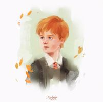 Ron Weasley by MarinaMichkina