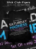 Slick Club Flyers by ibRC