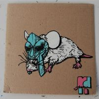 mouseandmask by mikedestructive