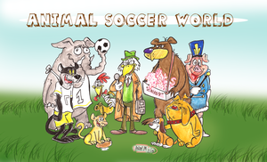 Animal Soccer World by Granitoons
