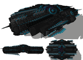 PROTOTYPE Spirit Of Intuition Leviathan Class by madcomm