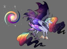 MLP Doodle- Celestia and Luna fusion by Earthsong9405