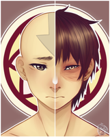 Two Sides of the Same Pai Sho Tile by prince-buggy