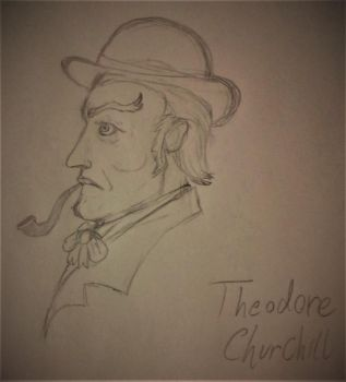 Quick Sketch: Thedore Churchill, Killer for Hire by SalvadorDeonde