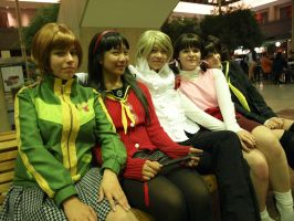 Persona 4 - And All the Ladies by Gwiffen