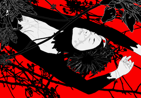 Sakura Mother Death by Negatic