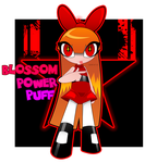 Powerpuff Girl Blossom by QimCheese