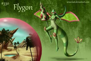 Flygon Concept by Wraeclast