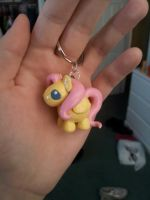 .:Fluttershy Key Chain:. by PeaBlueJr