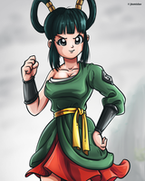 Yurin - Dragon Ball Super Fan Art (Episode 89) by TomislavArtz