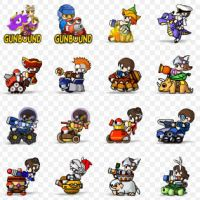 Gunbound Icons by hush66