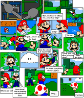 super mario bros page 4 by Nintendrawer