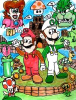 Super Mario Bros. by SonicClone