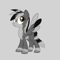 Stripeclaw Pony. by SunnyBlub