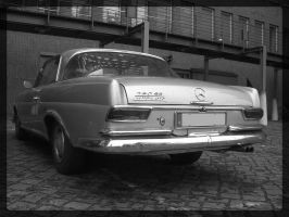 Mercedes 250 SE by puffy69