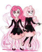 Mystery Skulls o.c.: Peggy the Ghost by Hope-Deluxe