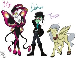 Adopted OCs by PickleJelloz