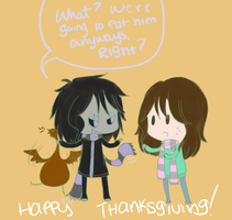 Day 327: Thanksgiving by Falling-Wish